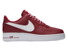 NEW MENS NIKE AIR FORCE 1 LV8 NBA BASKETBALL SHOES TRAINERS TEAM RED / WHITE