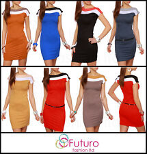 Beauty Dress Party Bodycon Evening Dresses Boat Neck dress Size 8 10 12 HQ5406