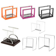 Newton's Cradle with Metal Balance Ball Physics Science Toy Teaching Accessories