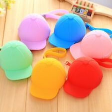 Lovely Hat Silicone Wallet Coin Purse Purse Case Bag Pouch Earphone Bags Keyring