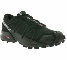 NEW Salomon Speedcross 4 Men's Shoes Trail-Running Shoes Sports Shoes Black