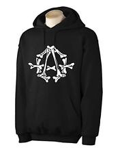 ANARCHY SYMBOL HOODIE -  Anarchism Anarchist Political Punk, Size Small to 2XL