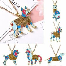 Fashion Animal Dog Cat Chain Charm Pendant Necklace Women Party Jewelry Gift New