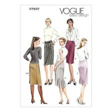 VOGUE SEWING PATTERN BASIC DESIGN SET OF SKIRT SKIRTS SIZE 6 - 22 V7937