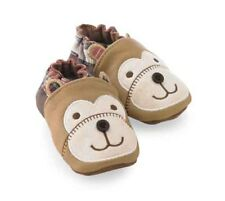 Mud Pie Baby BEAR LEATHER SHOES 352611 Christmas Santa's Workshop Collection