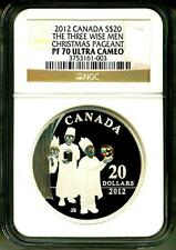 2012 Canada S$20 The Three Wise Men Christmas Pageant Crystal NGC PF70 UC