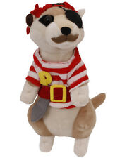 "PIRATE MEERKAT SOFT TOY CHRISTMAS GIFT 13"" STUFFED ANIMAL TEDDY BEAR CUTE CUDDLY"