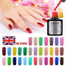 Elite99 One Step Gel Polish UV LED Varnish No Need Base Top Coat No Tacky Layer