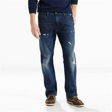 NEW MENS LEVIS 569 LOOSE STRAIGHT LEG BLUE JEANS 32 34 36 ROOM IN SEAT THIGH