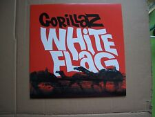 "GORILLAZ - WHITE FLAG - 10"" P/S SINGLE - RSD 2010 RECORD STORE DAY - BLUR - NEW"