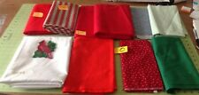 LOT Of Fabric Remnants Cotton + Other Quilting Sewing Craft Create No Reserve #O