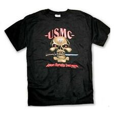 USMC Death Before Dishonor T-Shirt US Marine Corps Skull Bayonet  EG&A New