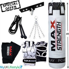6 pcs punch bag set included ceiling hook 4 way chain MMA gloves inner gloves