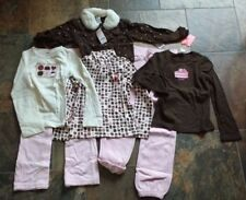 NWT Size 8 Gymboree SWEETER THAN CHOCOLATE Pants Sweater Pink Brown Top Lot Set