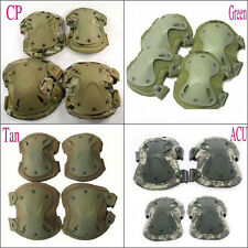 Stock Adjustable Tactical Combat Protective Knee With Elbow Pad Skate Knee Pads
