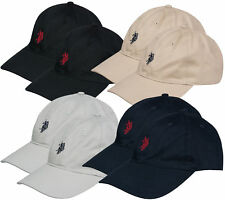 Pack of 2 U.S.POLO assn. Cap Hat Baseball Cap Cappy Classic Cotton Baseball