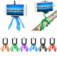 BA_ Octopus Mini Flexible Stand Tripod Mount + Free Holder For Smart Phone iPhon