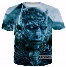 Game of Thrones Fashion T-Shirt Graphic Tee Boys Tops 3D Print Short Sleeve r60