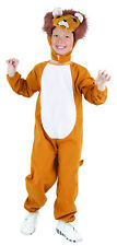 Boys Girls Kids Childs Lion Costume Fancy Dress Up Outfit NEW 4-6-8-10
