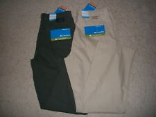 NWT Columbia Size 36x32 Cotton Canvas Ultimate ROC Pant Omni Shield UPF 50 $65