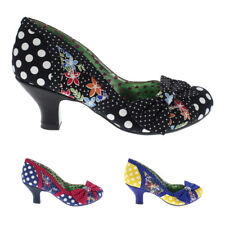 Womens Poetic Licence Shake It Slip On Floral Court Shoes Mid Heels US 5.5-11.5