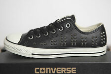 NEW All Star Converse Chucks Low Leather Studded Shoes 542417c Sz 42 UK 8,5