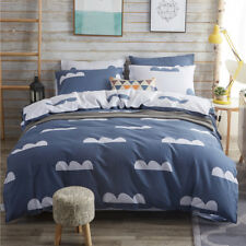 New Cotton Quilt Doona Duvet Cover Set Double Queen King Bed Pillow Cases Warm