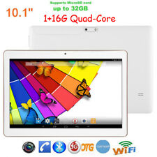 10.1'' Android Tablet PC 1G+16G Quad Core Dual Camera WIFI 3G GPS Bluetooth USA