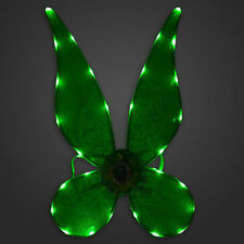 Deluxe~TINKER BELL~Light Up + Glow~WINGS~Costume~NWT~Disney Store~STAMP~2017