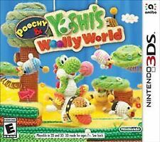 Poochy & Yoshi's Woolly World (Nintendo 3DS, 2017) Brand New Factory Sealed