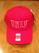 UNLV Runnin Rebels Fitted Hat American Needle NWT NCAA Las Vegas Mountain West