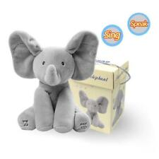 Hot Sale Singing Animated Gray Elephant Cute Soft Plush Baby Toy Doll Gift