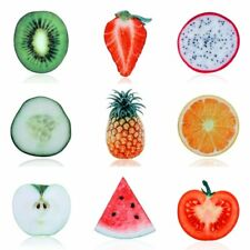 Delicious Fruit Pineapple Strawberry Brooch Pin Women Costume Jewelry Gift