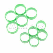 Plastic Green Big/Small Size Poultry Leg Bands Bird Pigeon Duck Rings 50 Pcs
