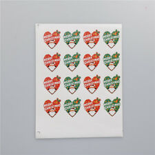 Merry Christmas Badge Sticker Envelope Seal Wrapping Stickers