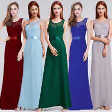 Ever-Pretty Long Womens Lace Bridesmaid Wedding Evening Party Maxi Dresses 08938