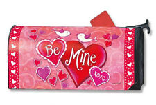 BreezeArt Mailwraps BE MINE BIRDS Magnetic Mailbox Cover by Magnet Works