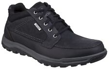Rockport Trail Technique Waterproof Chukka Black Lace Up Mens Waterproof Boots