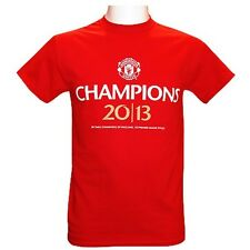 Manchester United 2013 English Premier League Champions t-shirt NWT MAN U Champs