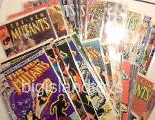 Marvel Comics The New Mutants 1-100 Bronze Copper 82-91 Dozens to Choose [CHOICE