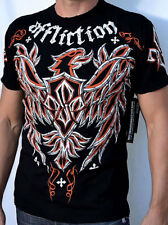Affliction GSP MICRO - Georges St. Pierre - Men's T-Shirt A5422 - NEW - Black MD