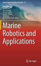Marine Robotics and Applications Hardcover Book Free Shipping!