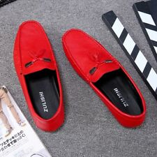 leather Comfy Lightweight Oxfords casual leisure Fashion Moccasins Driving Shoes