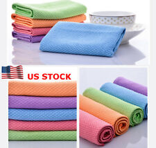 US Quick Dry Hair Towel Dishcloth Washing Cleaning Towel Dishcloth Kitchen Tool