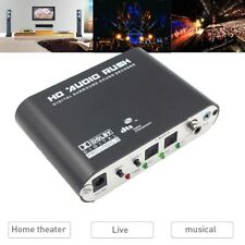 5.1CH digital to Amplifier Analog audio SPDIF Coaxial to RCA DTS AC3 decoder Pop