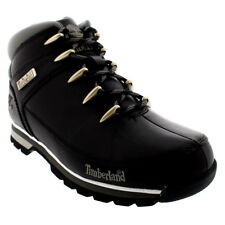 Mens Timberland Euro Sprint Hiker Leather Hiking Black Ankle Boots UK 6.5-12
