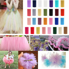 15 cm x 50 Yd Tulle Fabric Roll Spool Wedding Party Bow Tutu Skirt Decoration