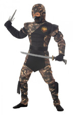 Child size Special Ops Camo Ninja Costume - GI Joe - 2 sizes fnt