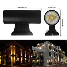 6/10/20W Exterior Wall Light Fixture Up Down Dual-Head COB LED Wall Lamp*Outdoor