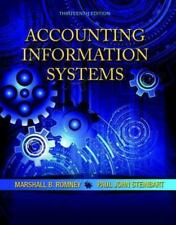 Accounting Information Systems by Marshall B. Romney and Paul J. Steinbart 13th